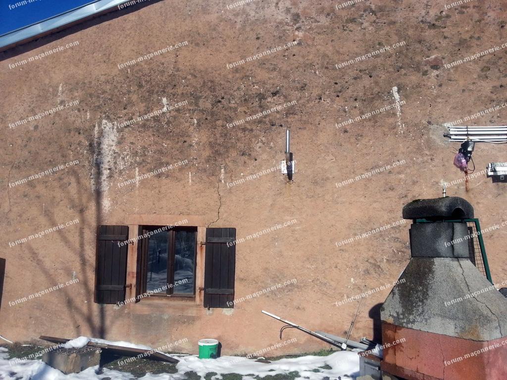 façade sud fenêtres qui se brisent