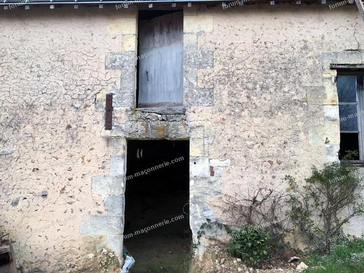 agrandissement d'une ouverture sur un mur porteur