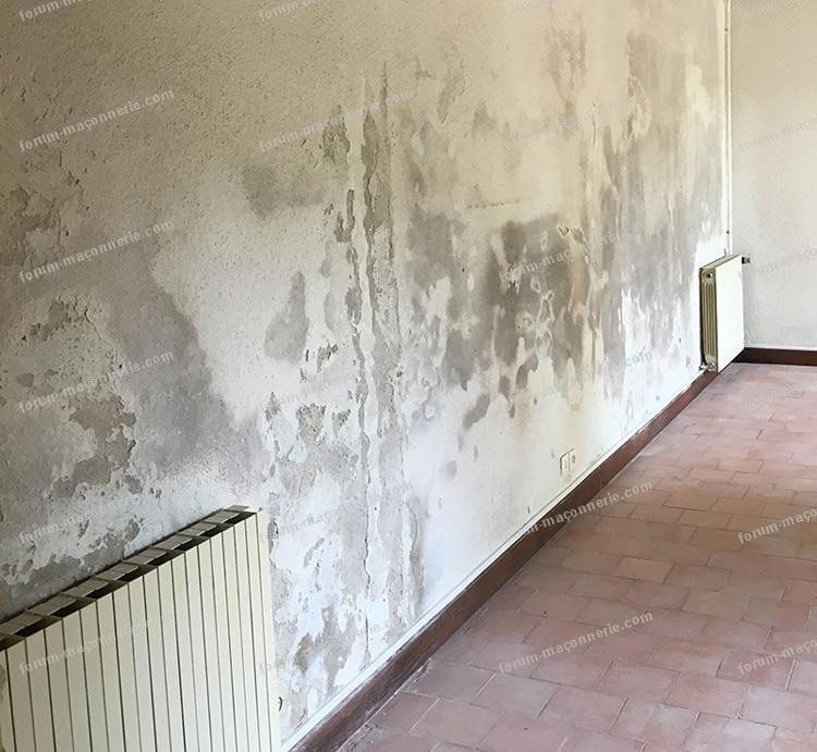 forum maçonnerie avis état dégradation d'un mur