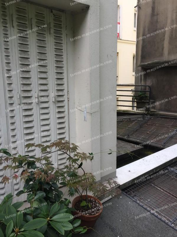 avis fissures sur façade immeuble parisien
