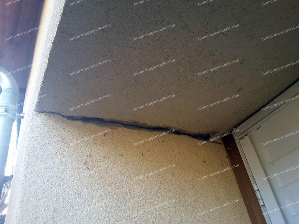 fissures sur façade extérieure de ma maison avis