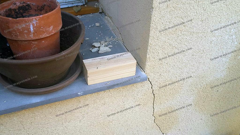 fissures sur facade exterieure maison avis