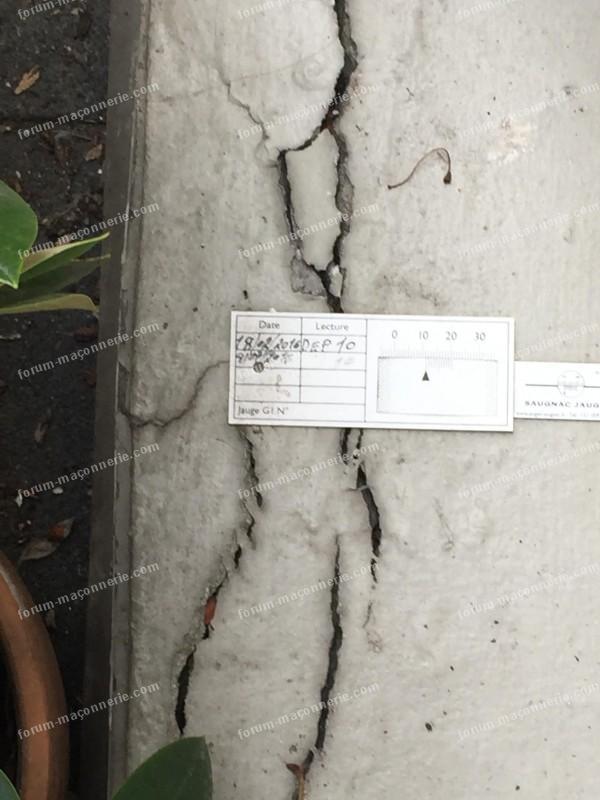 avis fissures sur façade immeuble ancien