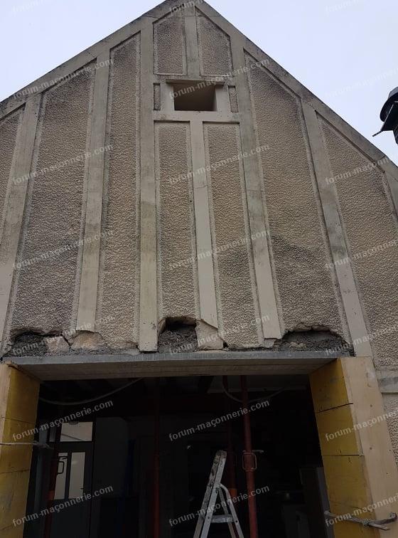 avis ouverture mur pose baie vitrée suspecte