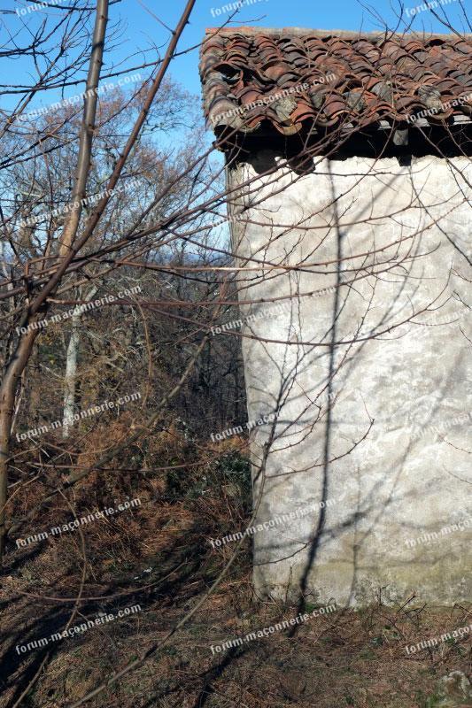 avis pignon mur pierre qui penche