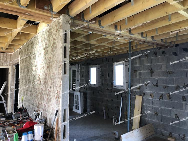 avis résistance mur porteur pour création d'un étage