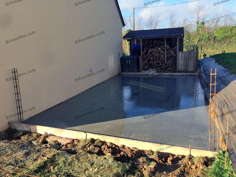 bricovidéo forum maçonnerie : avis sur réalisation d'une dalle ... - Fondation Pour Un Garage En Parpaings