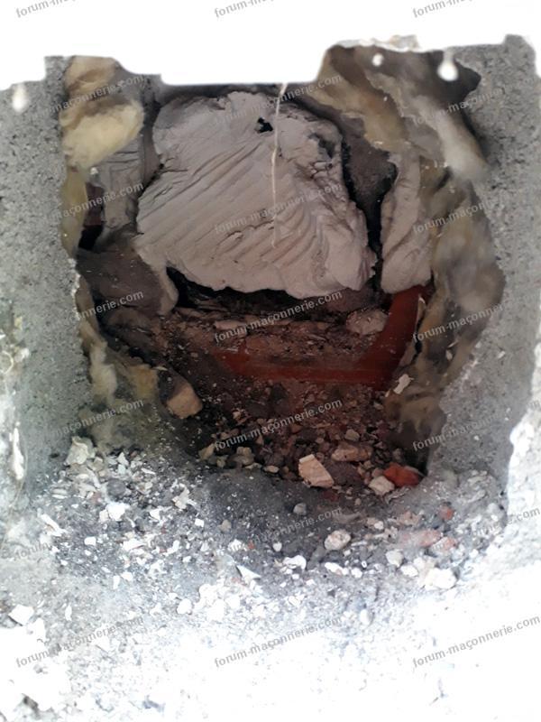 boucher entrée air ancienne cheminée