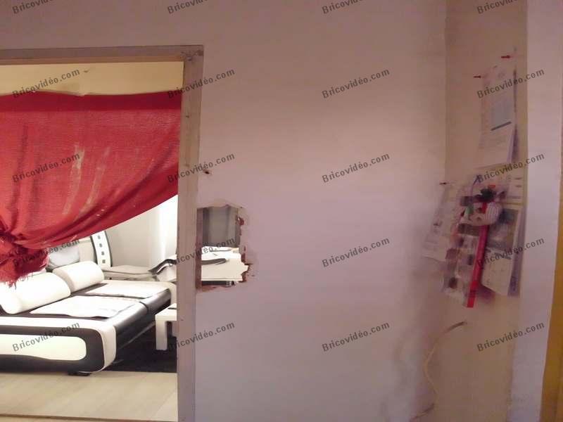 reboucher trou dans une cloison en briques conseils des bricoleurs du forum. Black Bedroom Furniture Sets. Home Design Ideas