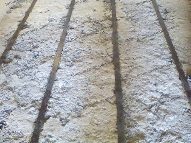 rénovation dalle de compression en béton de mâchefer