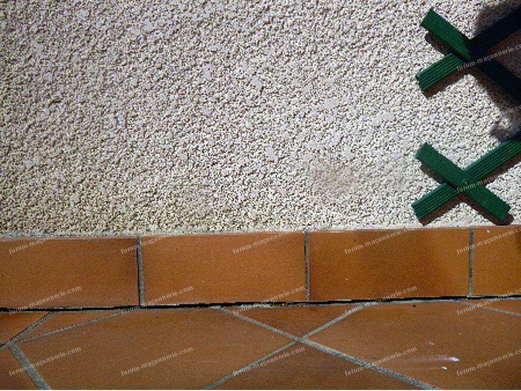 problème joints de carrelages terrasse