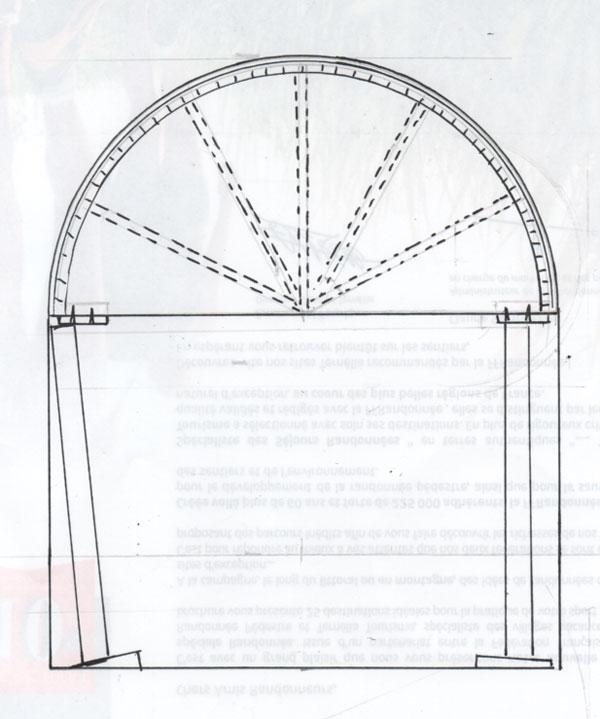 conseils travaux de bricolage fabriquer un coffrage en arc de cercle. Black Bedroom Furniture Sets. Home Design Ideas