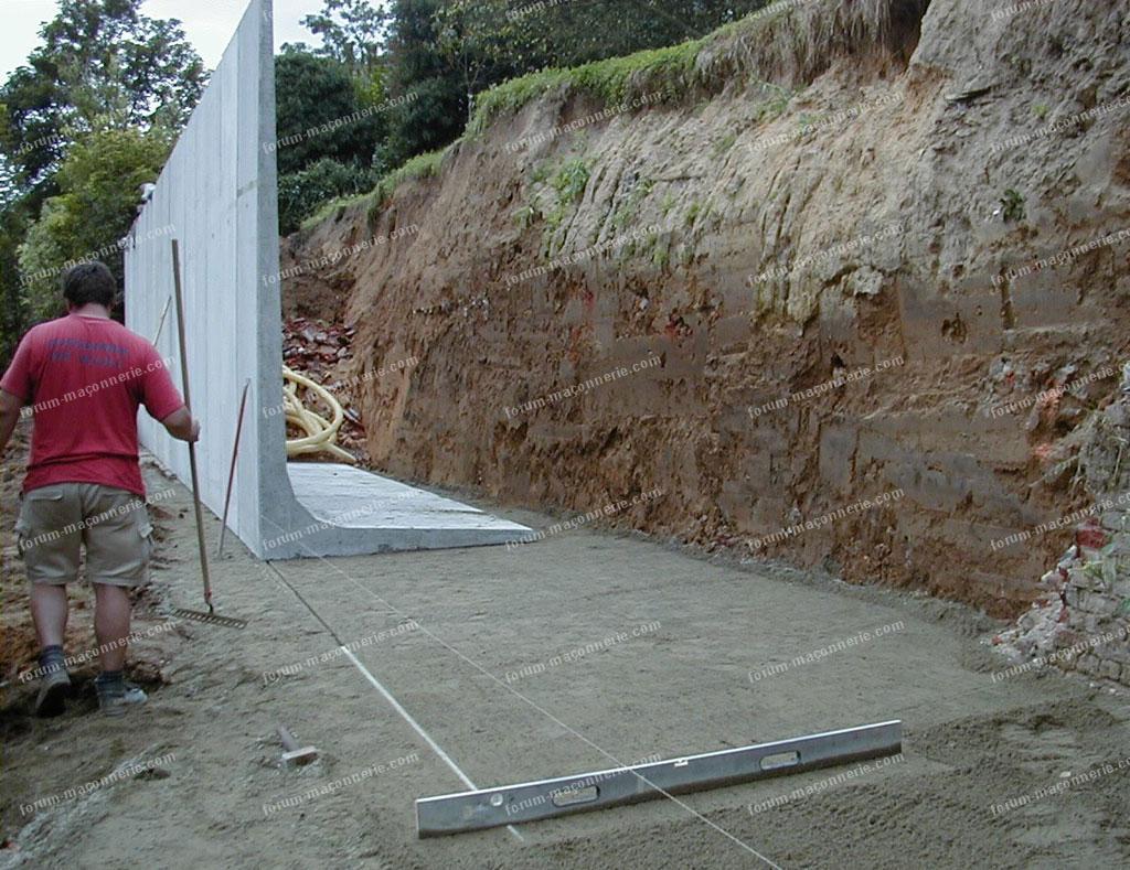 conseils fondation mur