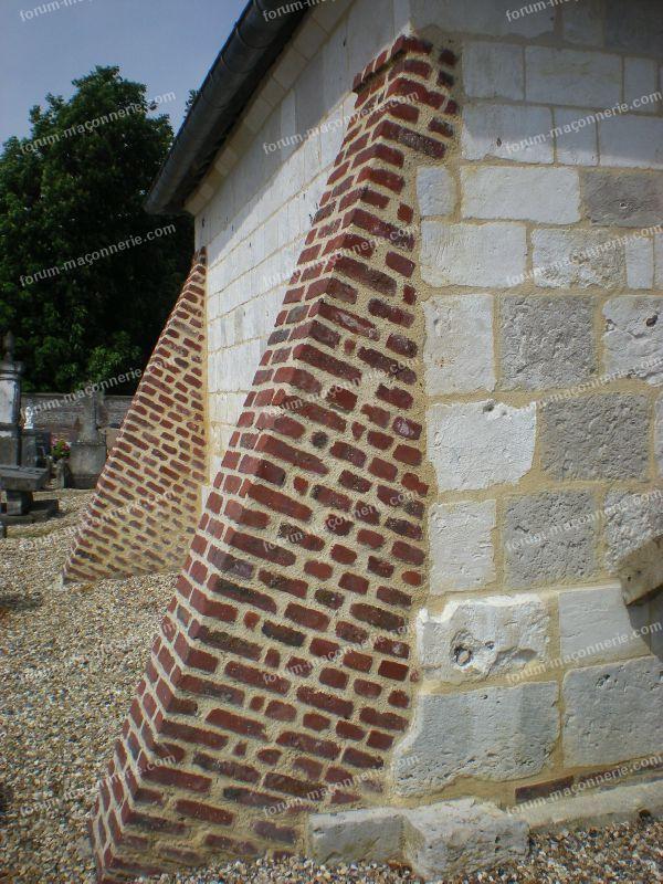 contrefprt en briques