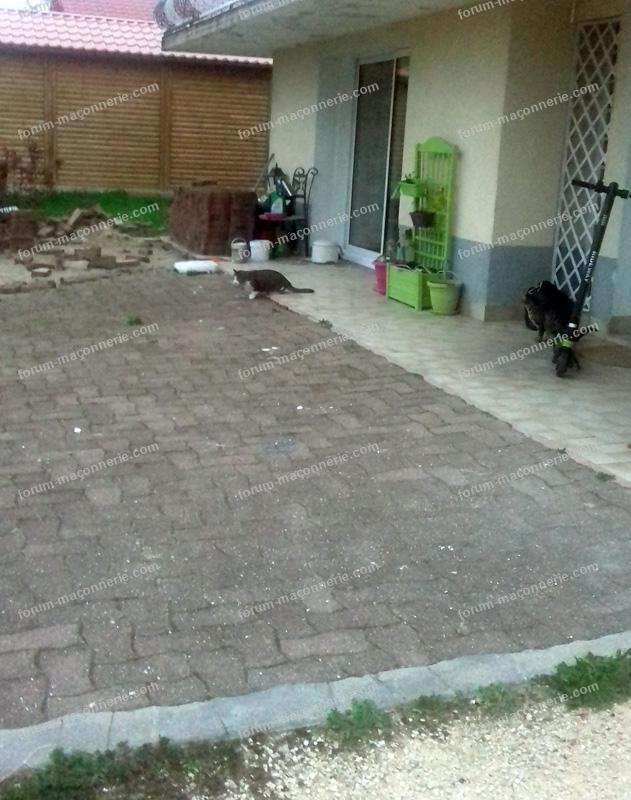 création de dalle pour terrasse