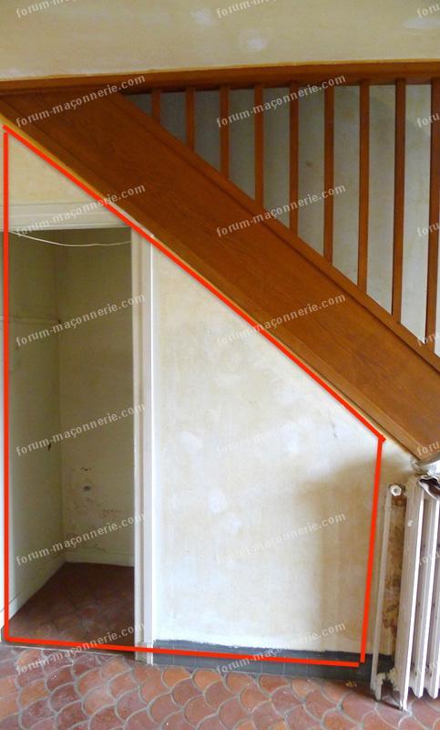 cloison creuse casser une cloison prix mur porteur casser une cloison en brique proprement with. Black Bedroom Furniture Sets. Home Design Ideas