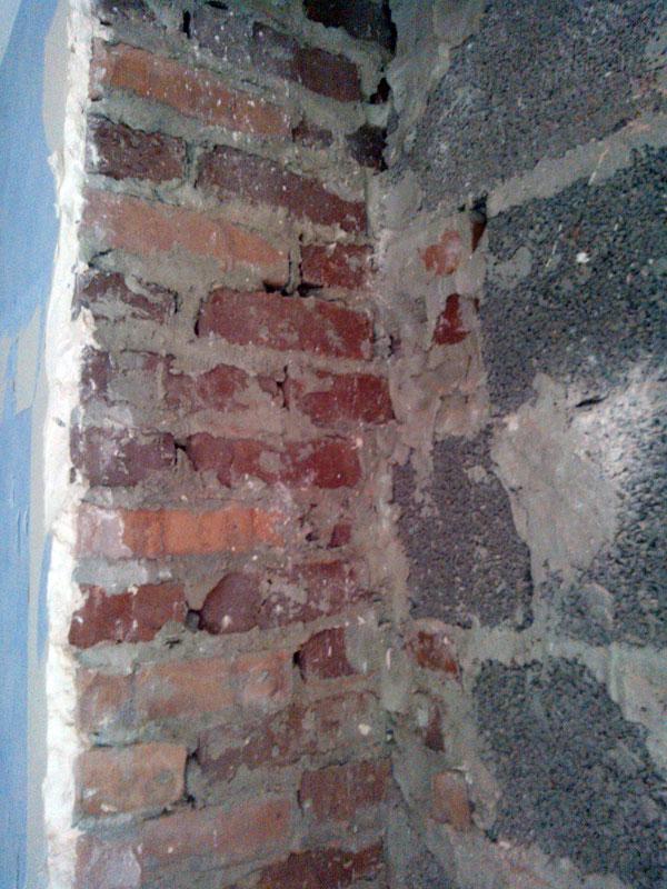 detruire conduit de cheminee en brique 04