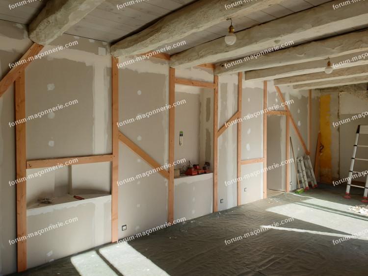 enduire un mur en plaque de plâtre