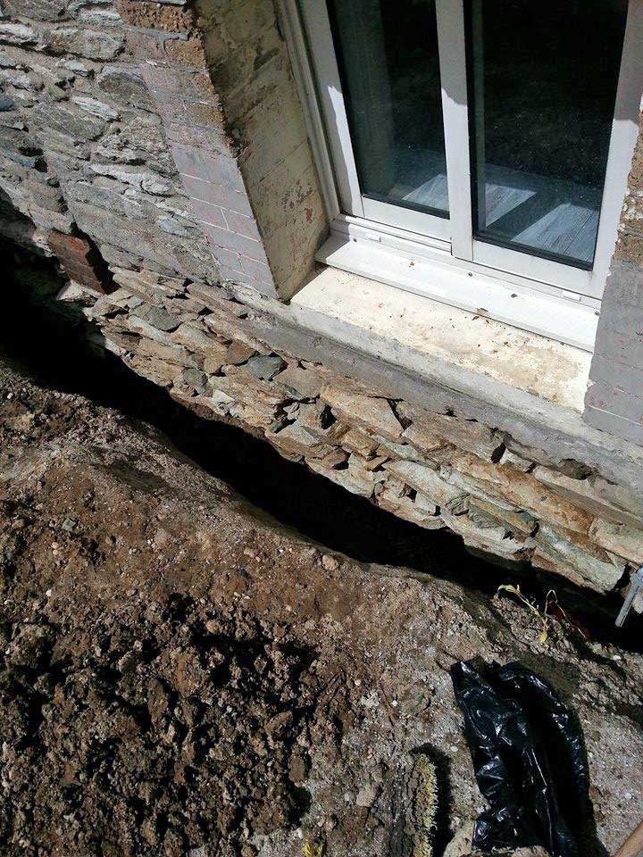 Question travaux tanch it ma onnerie etanch ifier les for Drainage maison en pierre