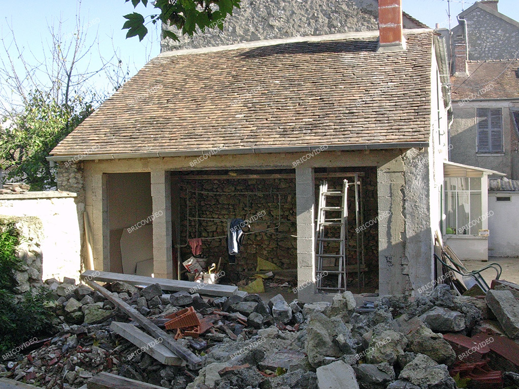 Forum ma onnerie am nagement d 39 un local en pi ce d for Extension piece maison