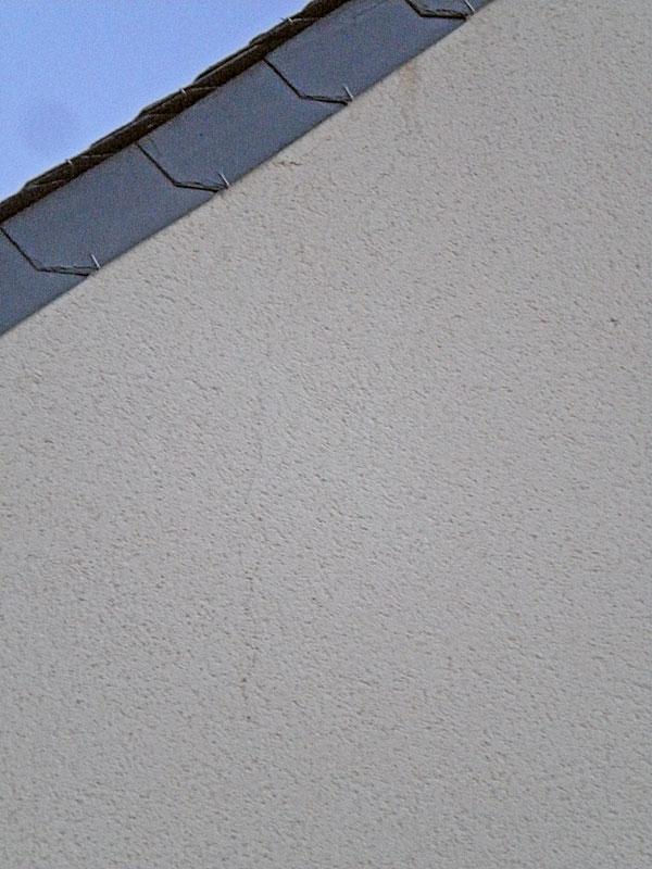 Fissure faade maison 1 de retrait en mailles larges des enduits ou btons quel recours contre - Reparer fissure crepi facade ...