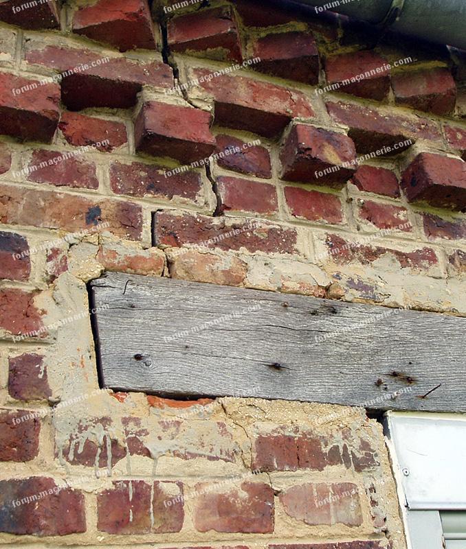 Conseils maconnerie r paration ma onnerie - Comment boucher une fissure dans un mur exterieur ...