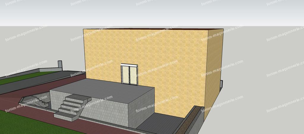 forum maçonnerie projet réalisation terrasse fini