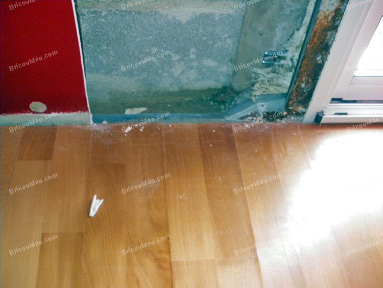 des conseils en ma onnerie probl me de fuite d 39 eau dans une chambre. Black Bedroom Furniture Sets. Home Design Ideas