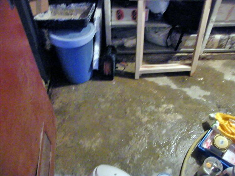 infiltration eau de pluie cave maison