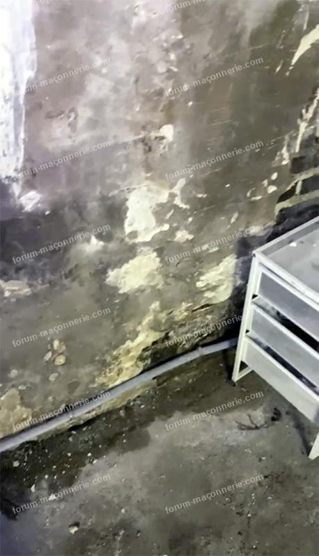 infiltration sous-sol