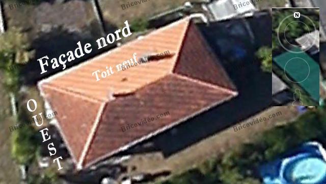maison vue de haut