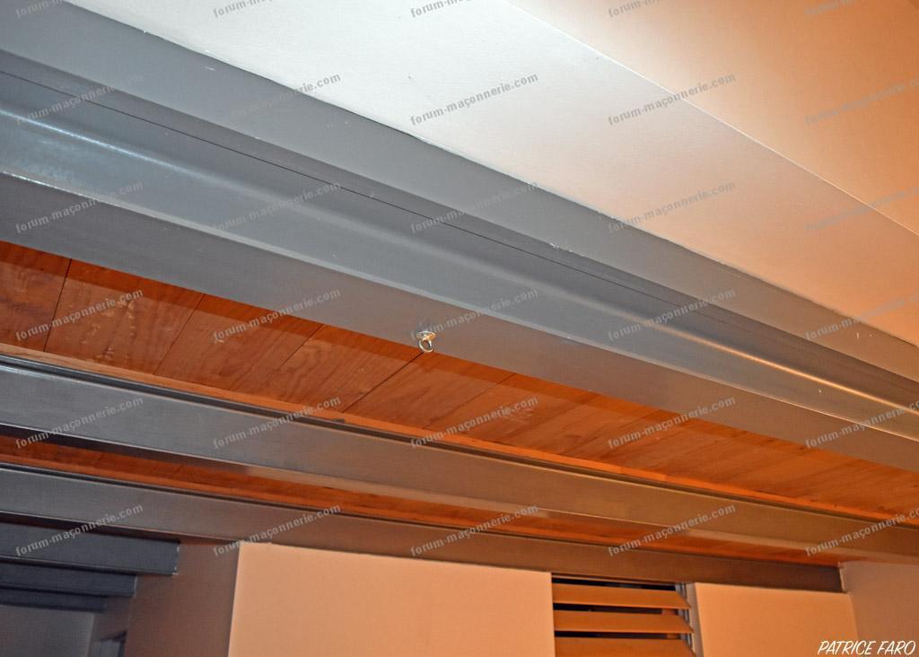 mezzanine poutres métalliques IPN