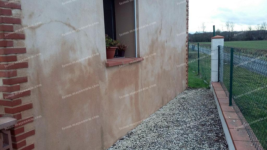 Forum ma onnerie mur ext rieur humide en permanence for Construction mur exterieur quebec