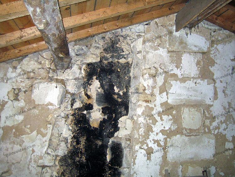 mur fragile deuxieme etage