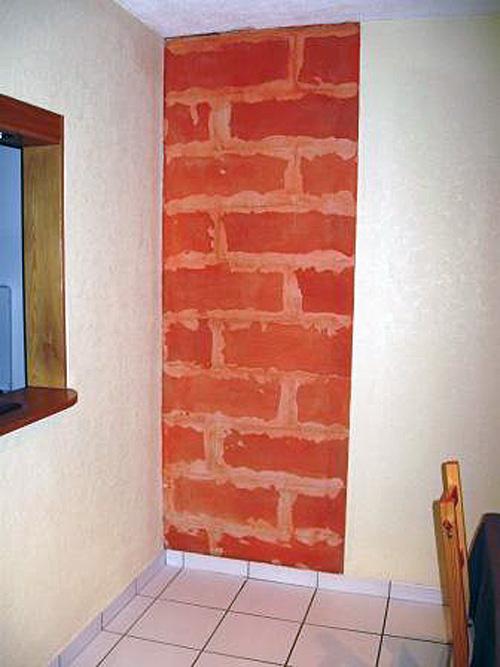 comment coller des plaques de parement sur du b ton cellulaire conseils astuces fiches bricolage. Black Bedroom Furniture Sets. Home Design Ideas