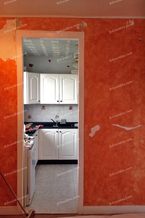 Agrandir ouverture mur cuisine salon conseils des for Ouverture salon cuisine