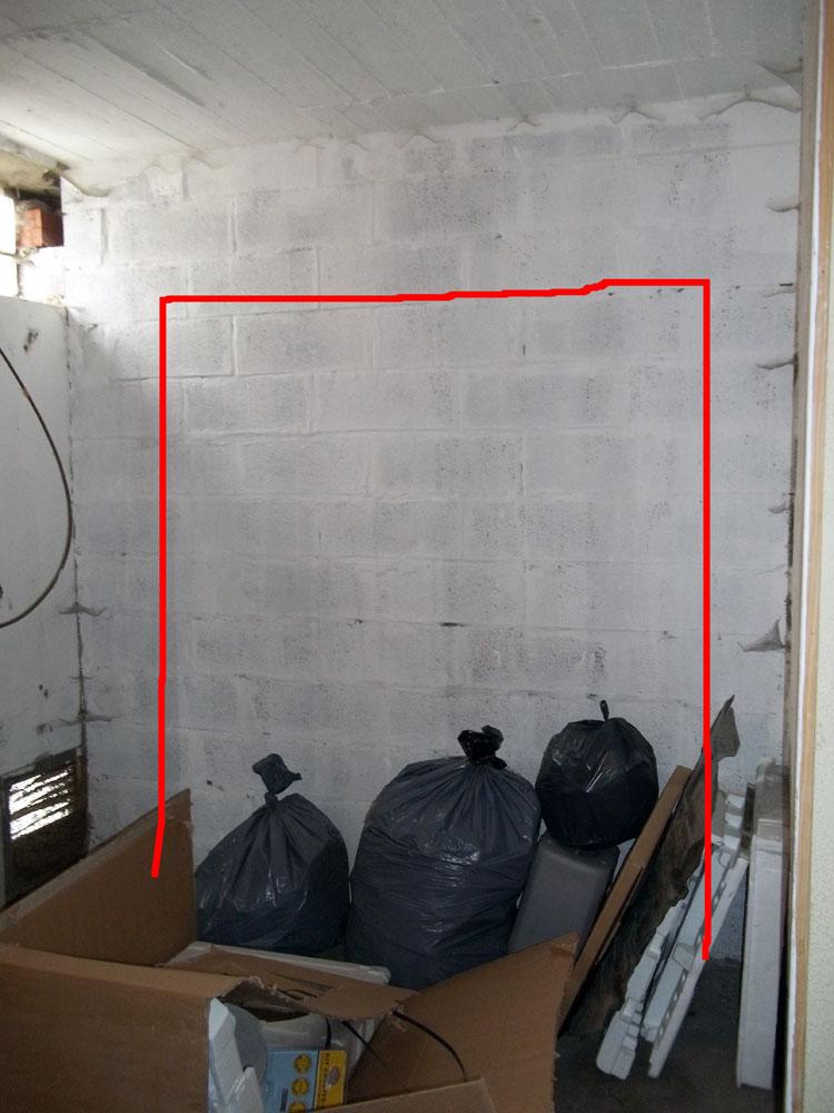 Conseils travaux ma onnerie ouvrir un mur parpaing - Mur en parpaing ...