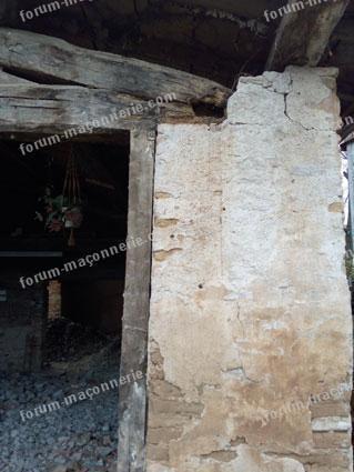 Construction d'un pilier pour soutiens poutre