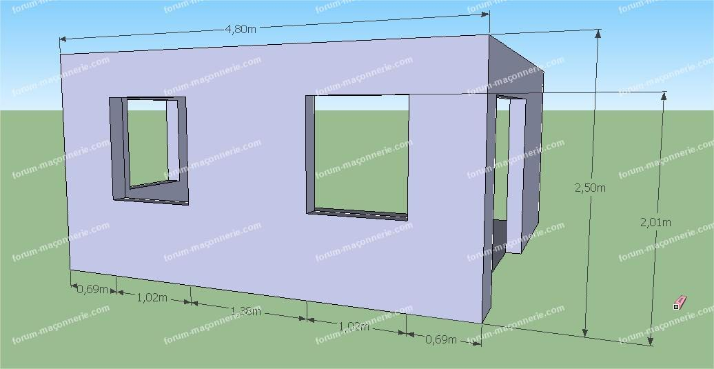 plan extension maison