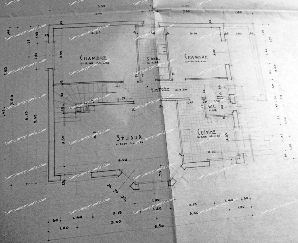 plan maison Raymond Raynal