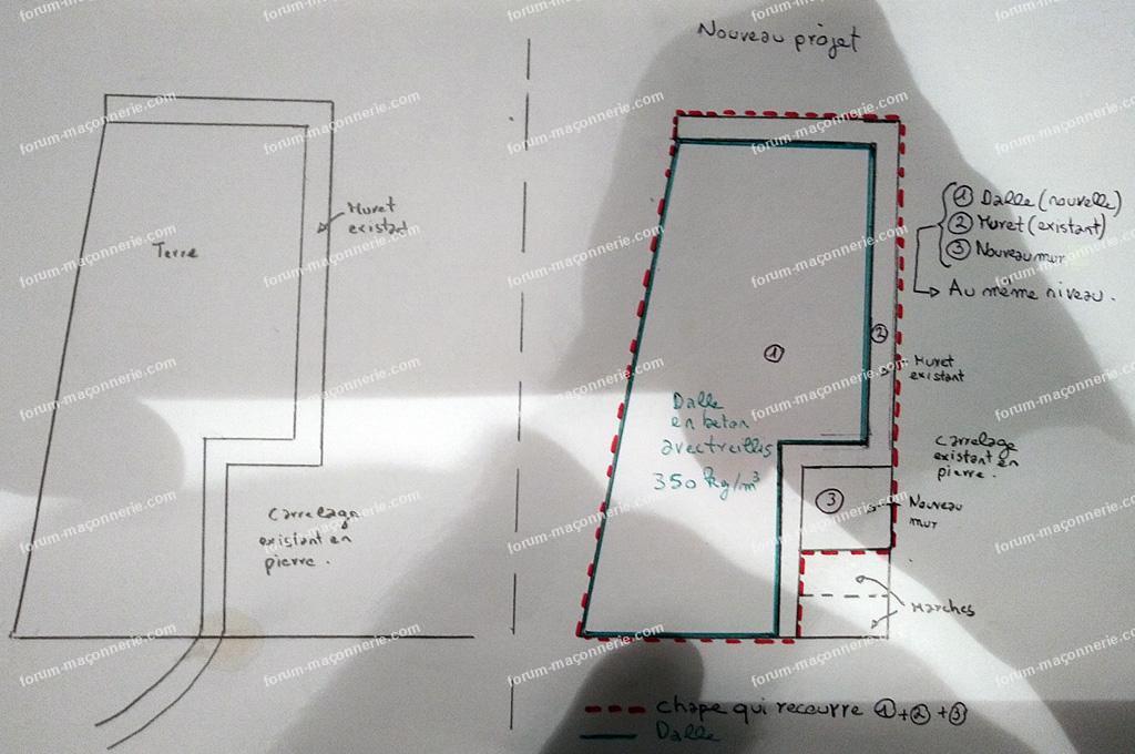 plan mur plage piscine