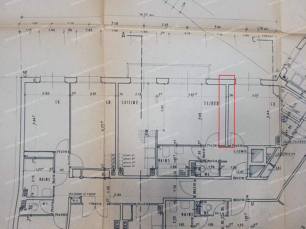 plan via les archives de la mairie