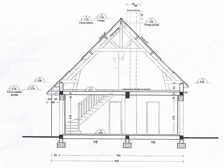 Conseils ma onnerie construire ma premi re maison garage n 39 a pas de pla - Construire mezzanine garage ...
