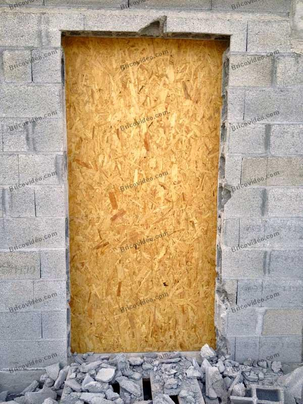 ma on n 39 a pas pr vu de linteau au dessus de la porte question travaux ma onnerie. Black Bedroom Furniture Sets. Home Design Ideas