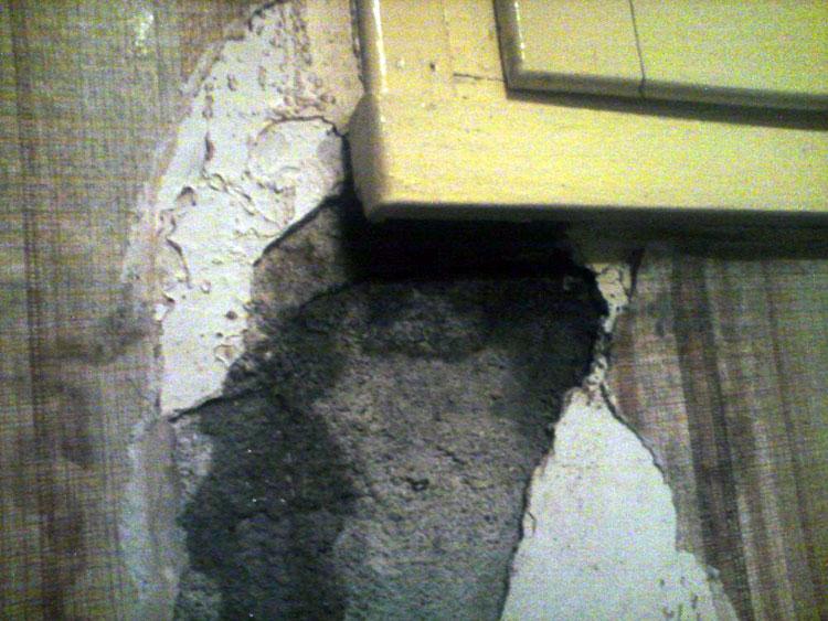 entraide bricolage ma onnerie probl me infiltration sous fen tre conseil pour reboucher. Black Bedroom Furniture Sets. Home Design Ideas