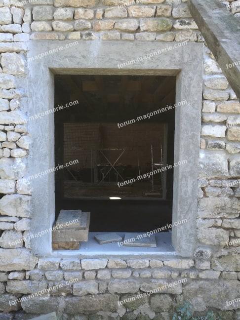 réaliser appui de fenêtre