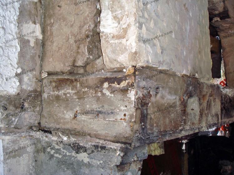 remplacement poutre linteau cheminee 003
