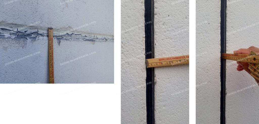 remplacer joint entre les plaques de ciment