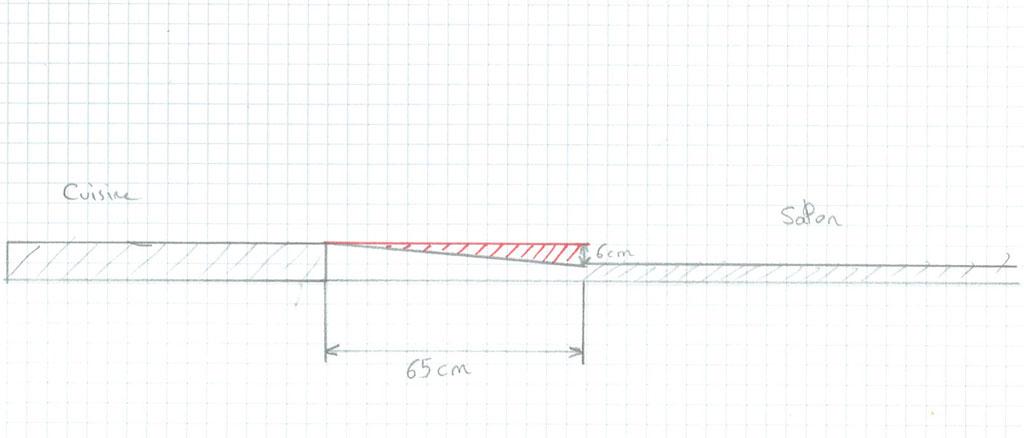 questions r ponses ma onnerie pose carrelage remplacer une pente par une marche. Black Bedroom Furniture Sets. Home Design Ideas