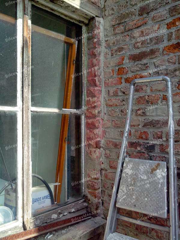travaux rénovation maçonnerie - remplacement fenêtre modification